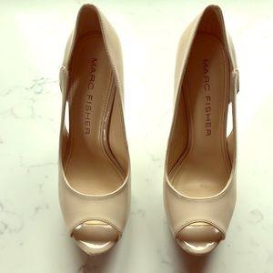 Marc Fisher nude heels